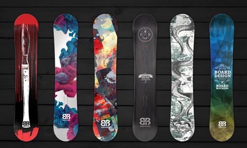 Snowboard Skins Design